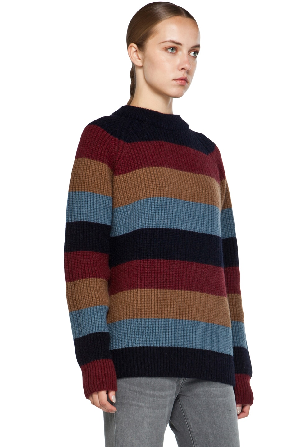 Image 3 of Marc Jacobs Striped Sweater in Multi