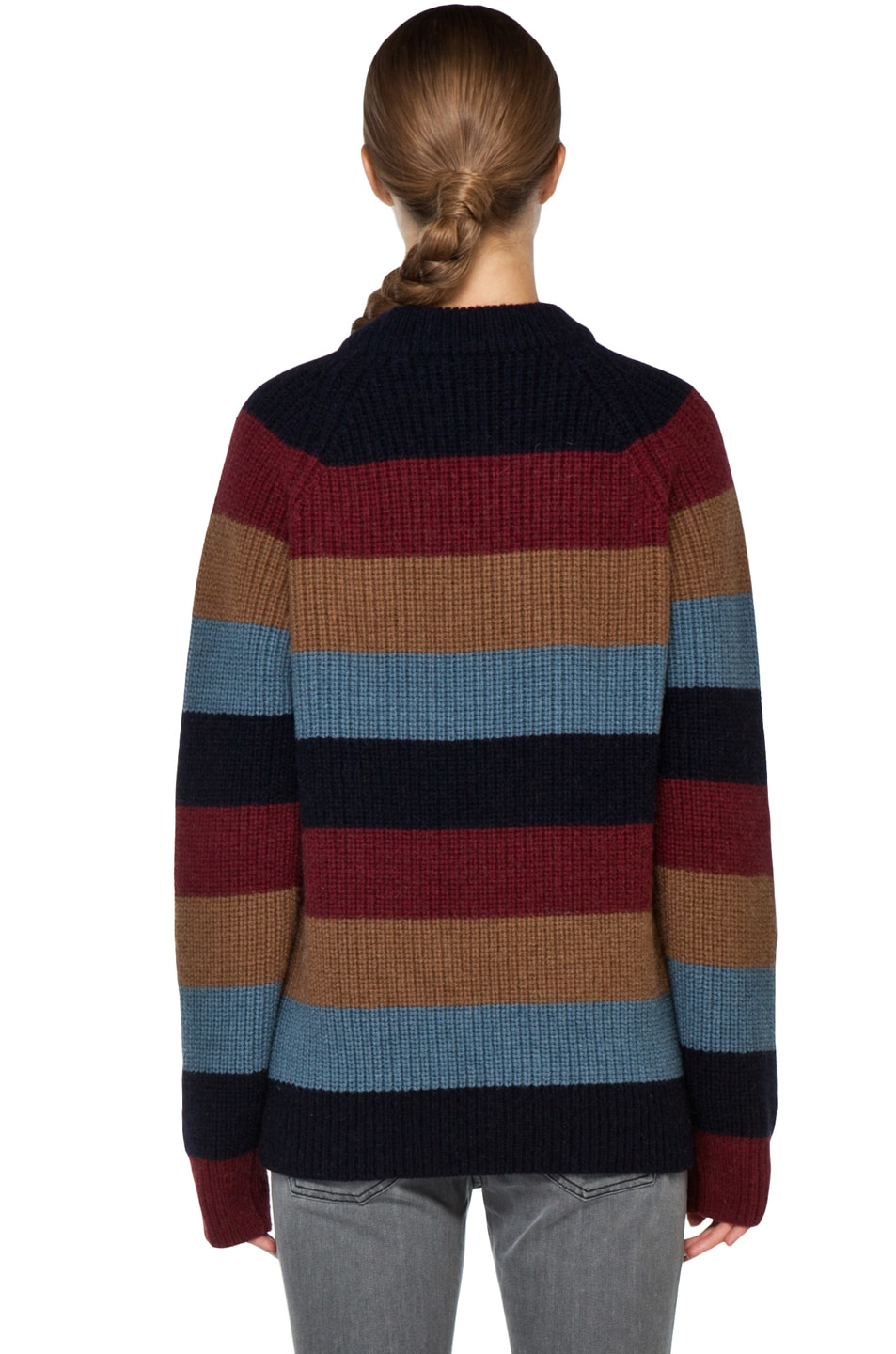 Image 4 of Marc Jacobs Striped Sweater in Multi