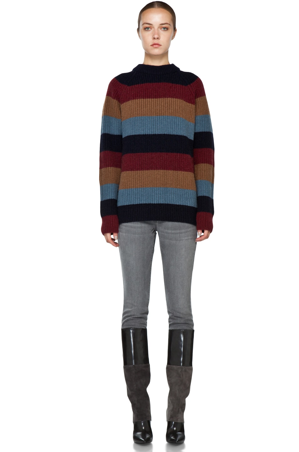 Image 5 of Marc Jacobs Striped Sweater in Multi