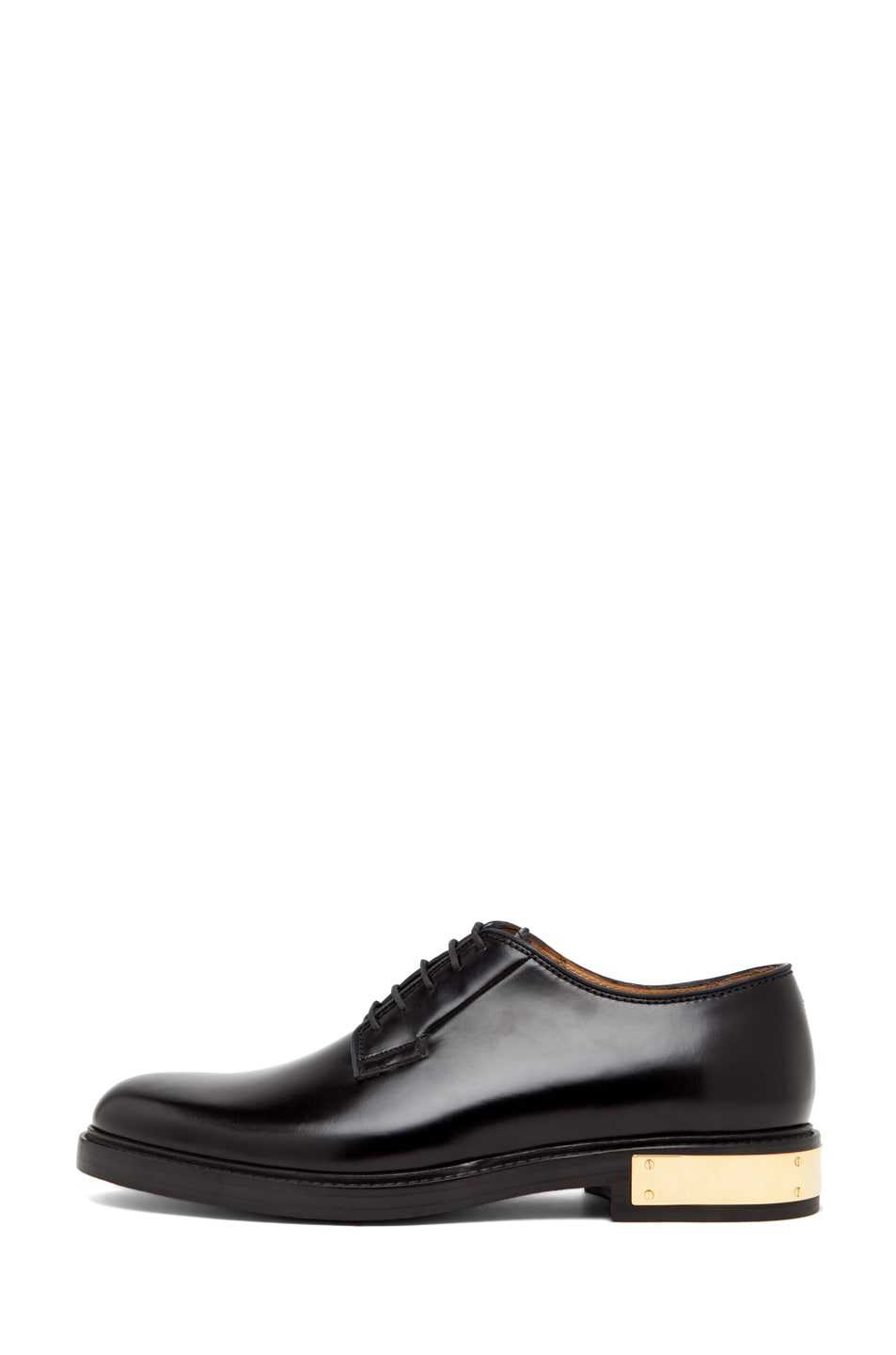 Image 1 of Marc Jacobs Oxford with Metal Detail in Black