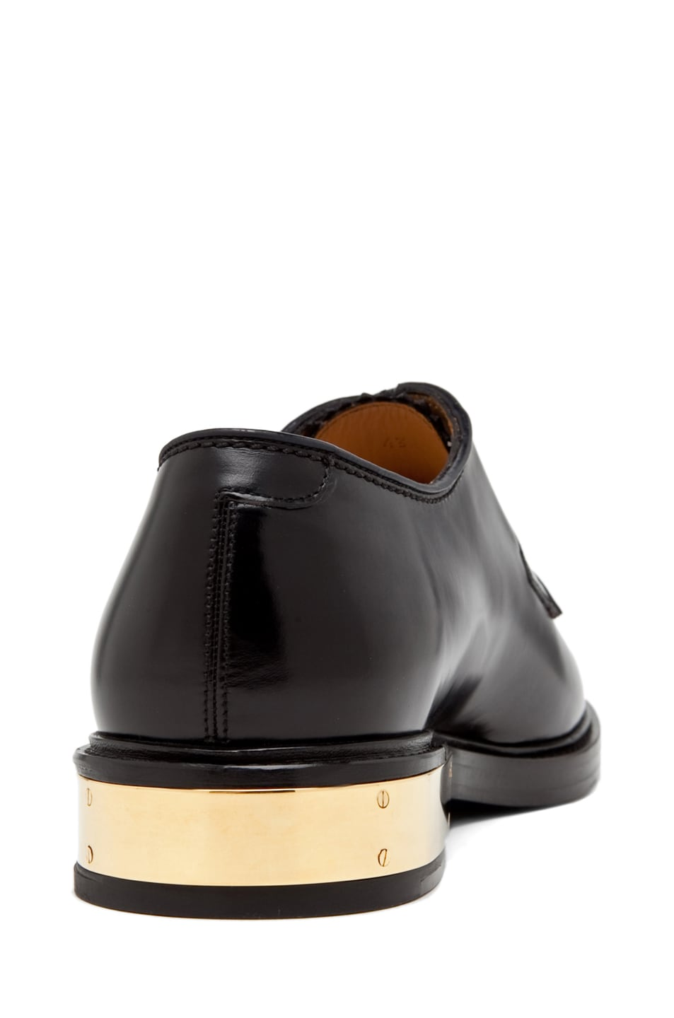 Image 3 of Marc Jacobs Oxford with Metal Detail in Black
