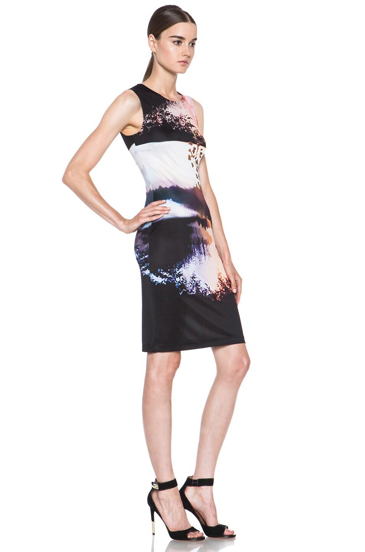 Image 3 of Mary Katrantzou Jersey Dress in Woodstock Sunset