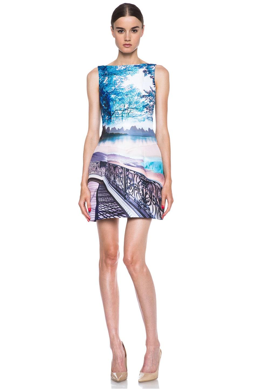 Image 1 of Mary Katrantzou Kardia Poly Dress in Twist