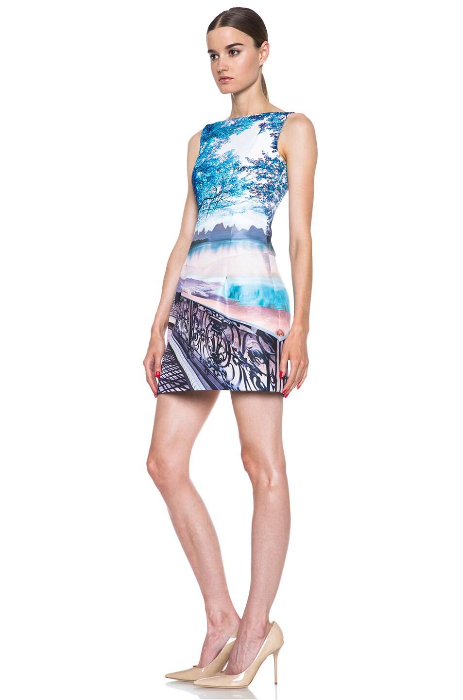 Image 2 of Mary Katrantzou Kardia Poly Dress in Twist