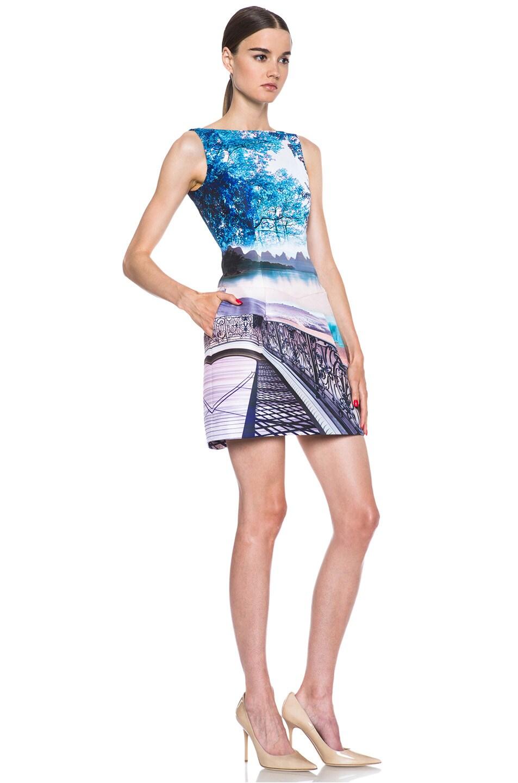 Image 3 of Mary Katrantzou Kardia Poly Dress in Twist