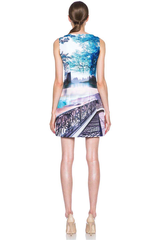 Image 4 of Mary Katrantzou Kardia Poly Dress in Twist
