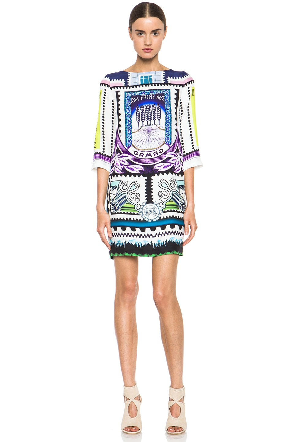 Image 1 of Mary Katrantzou Shift Dress in Venezuela