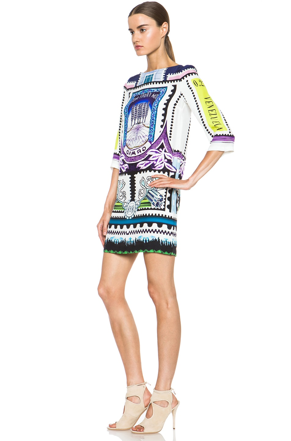 Image 2 of Mary Katrantzou Shift Dress in Venezuela