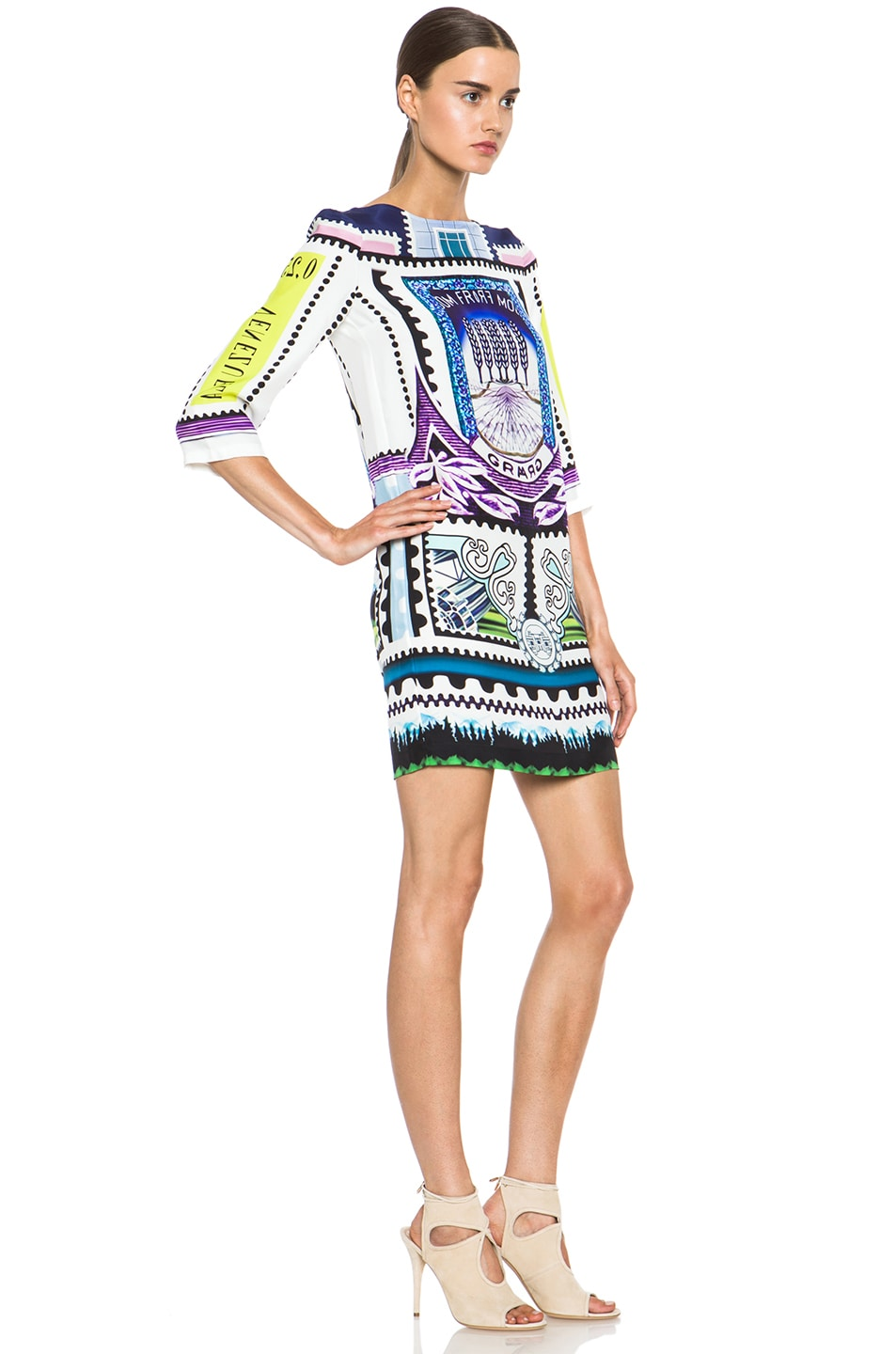 Image 3 of Mary Katrantzou Shift Dress in Venezuela
