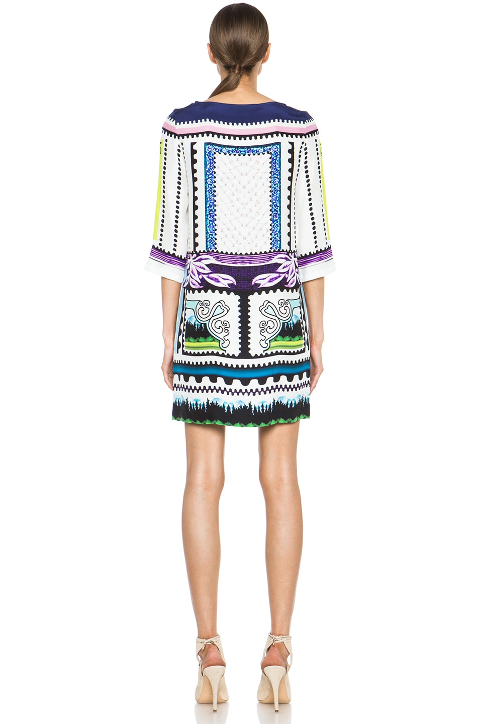 Image 4 of Mary Katrantzou Shift Dress in Venezuela