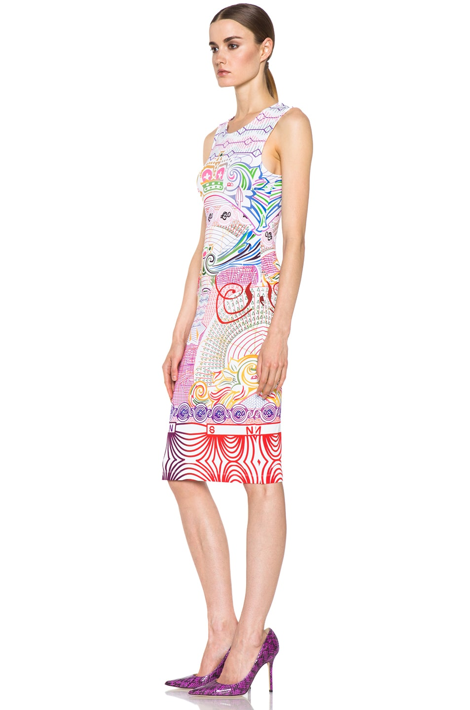 Image 2 of Mary Katrantzou Jersey Dress in Pound