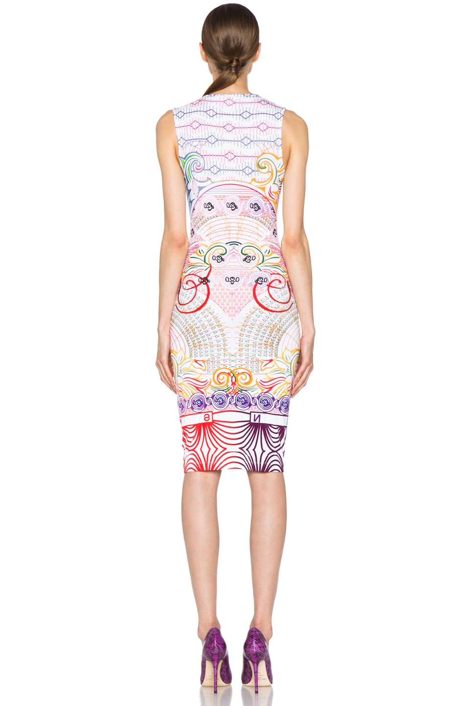 Image 4 of Mary Katrantzou Jersey Dress in Pound