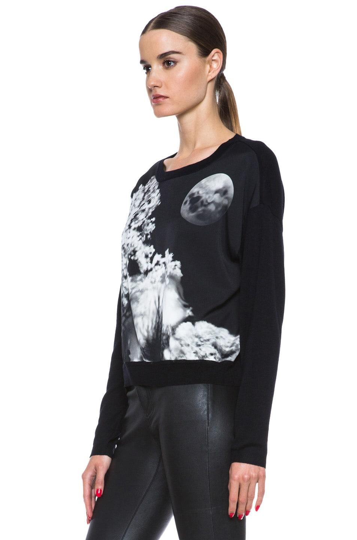 Image 2 of Mary Katrantzou Knipi Wool Sweater in Tia Maria