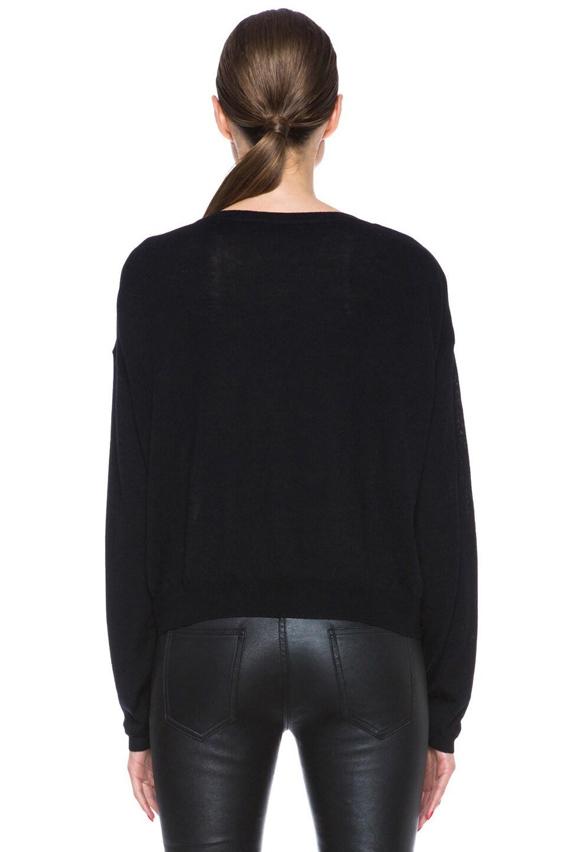 Image 4 of Mary Katrantzou Knipi Wool Sweater in Tia Maria