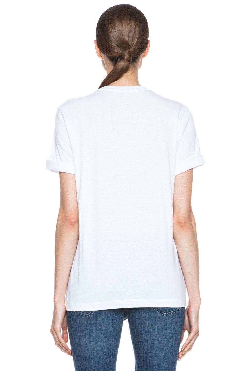 Image 4 of Markus Lupfer Dream Guy Sequin Alex Cotton Tee in White