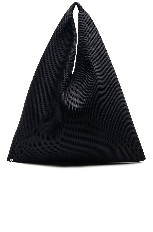 Image 1 of MM6 Maison Margiela Hobo Bag in Black