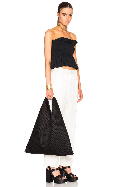 Image 2 of MM6 Maison Margiela Hobo Bag in Black