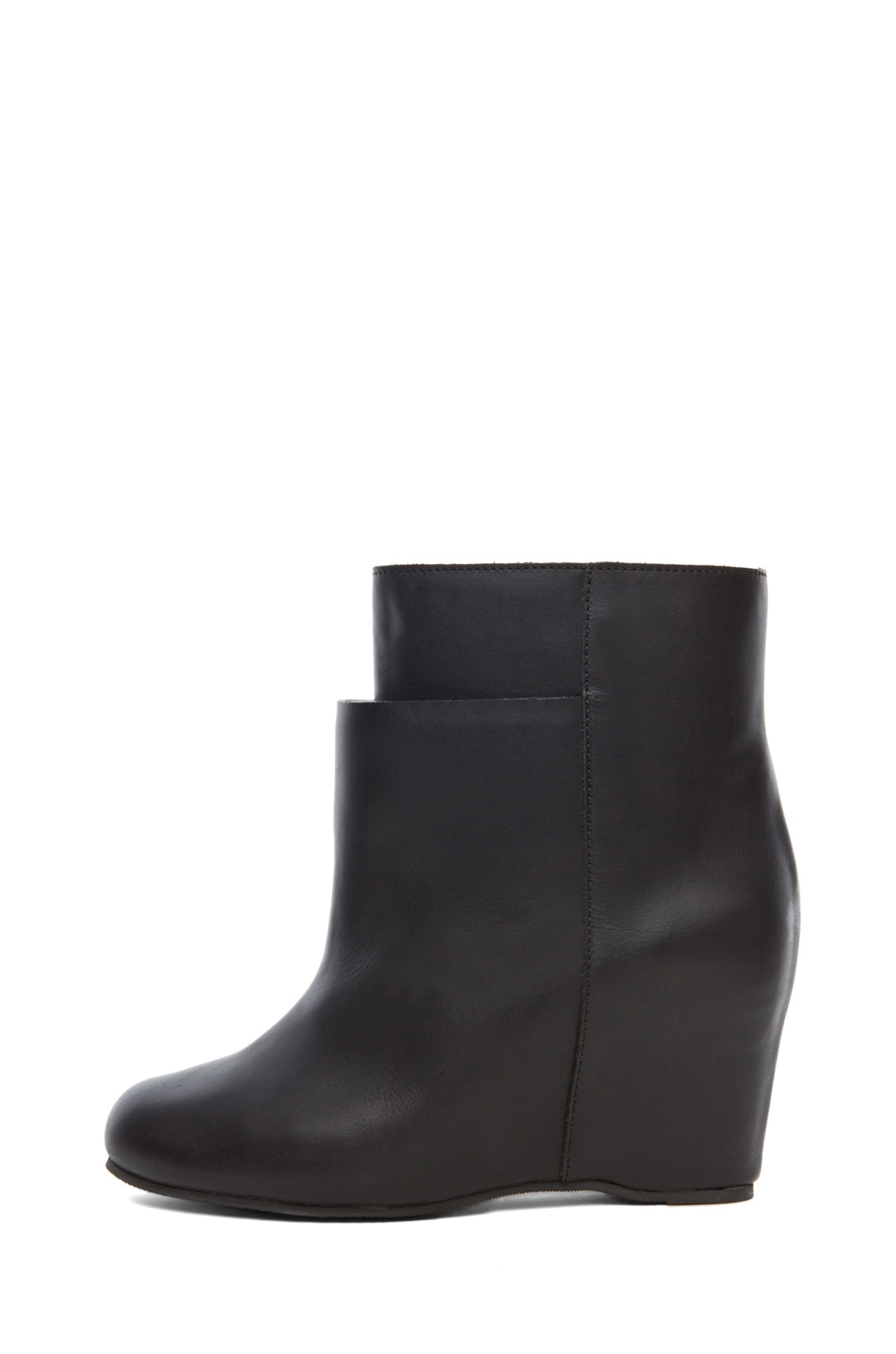 Image 1 of MM6 Maison Margiela Wedge Bootie in Black