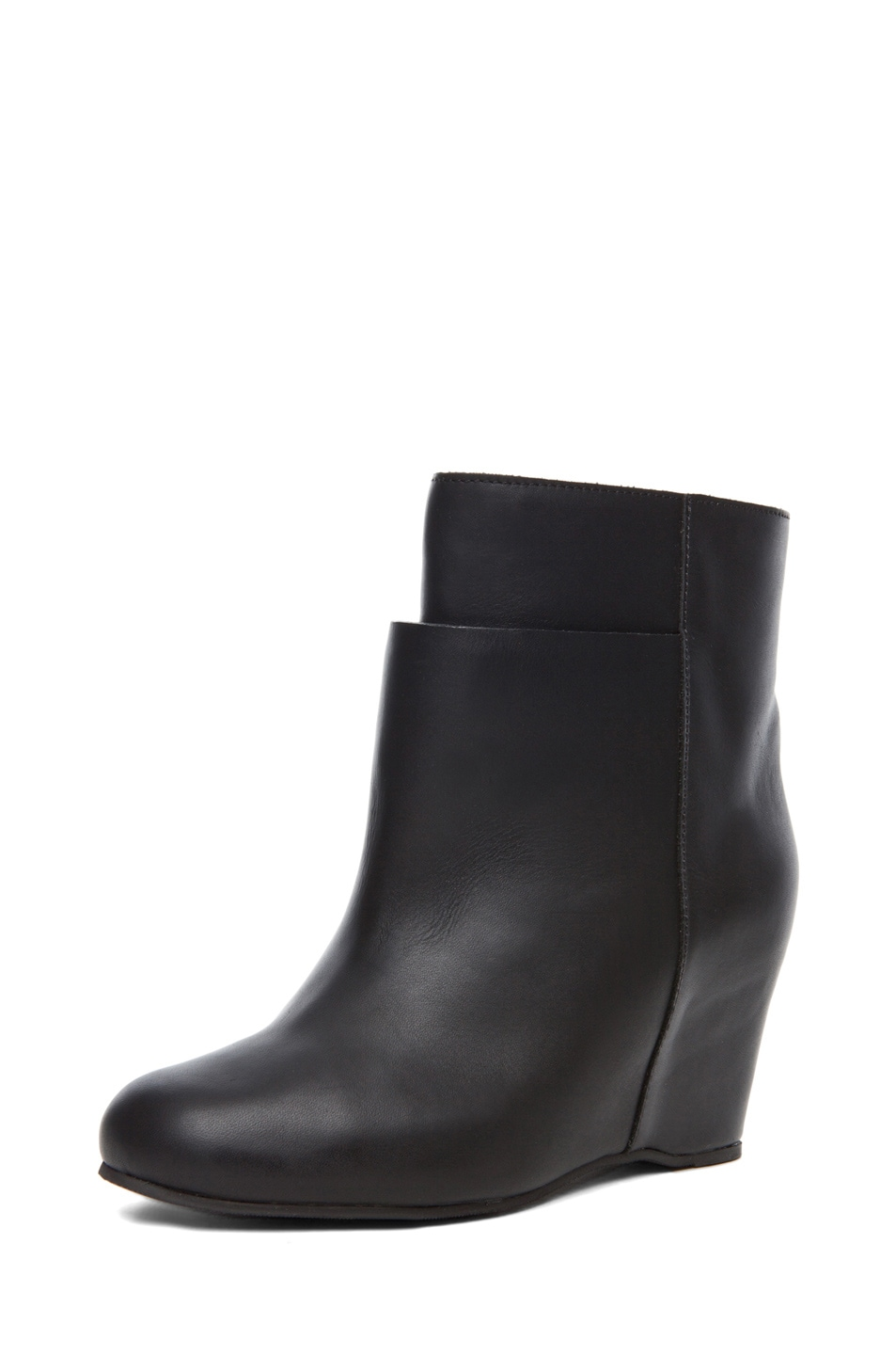 Image 2 of MM6 Maison Margiela Wedge Bootie in Black