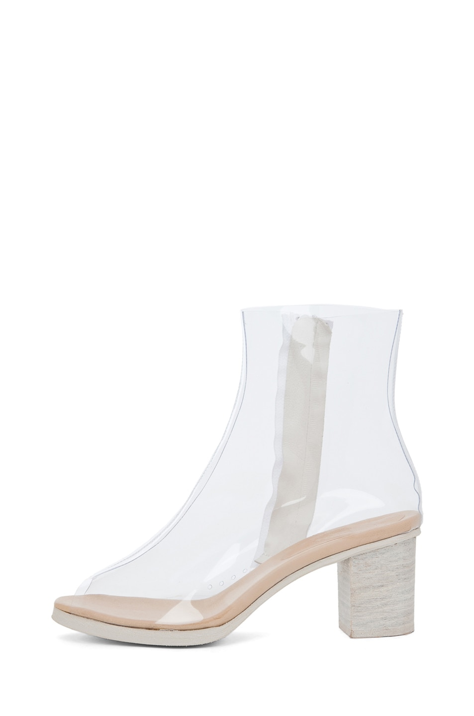 Image 1 of MM6 Maison Margiela PVC Bootie in Cristall