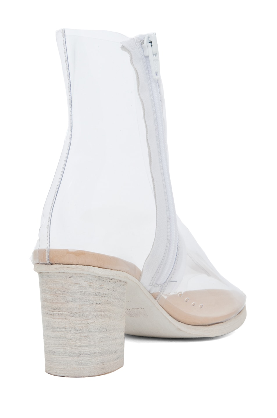 Image 3 of MM6 Maison Margiela PVC Bootie in Cristall