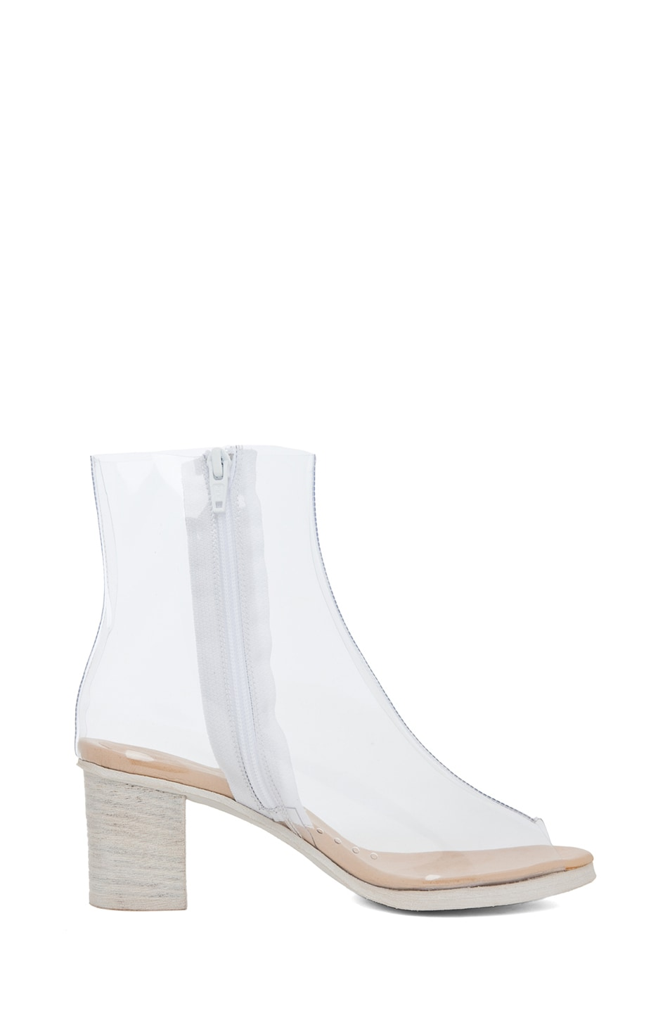 Image 5 of MM6 Maison Margiela PVC Bootie in Cristall