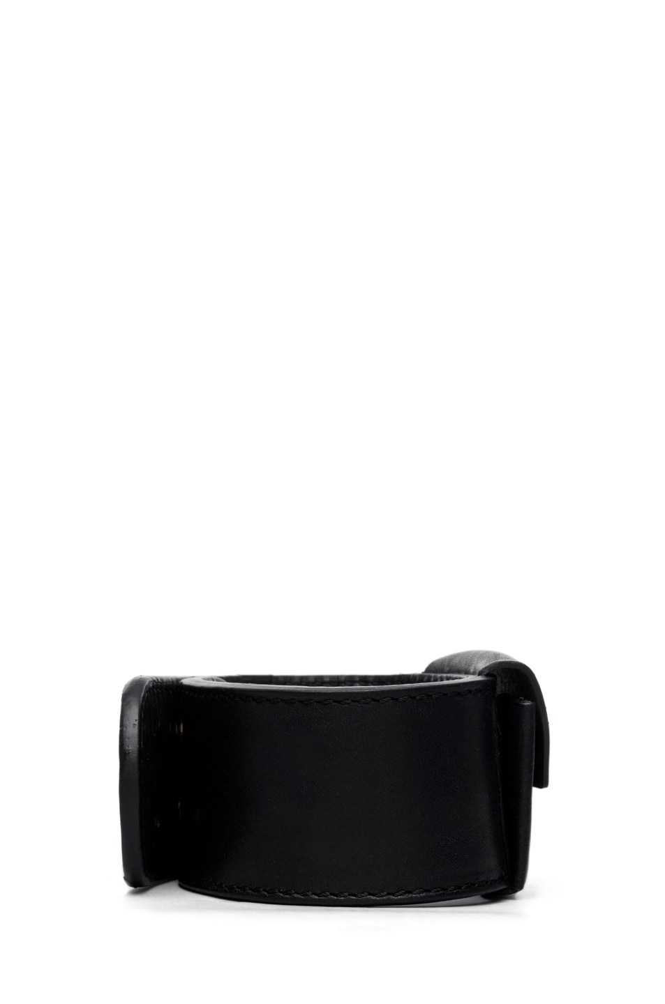 Image 2 of Maison Margiela Pouch Bracelet in Black