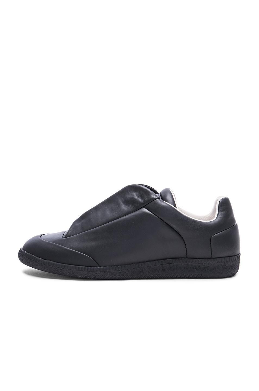 maison margiela future men 39 s leather low top sneaker black modesens. Black Bedroom Furniture Sets. Home Design Ideas