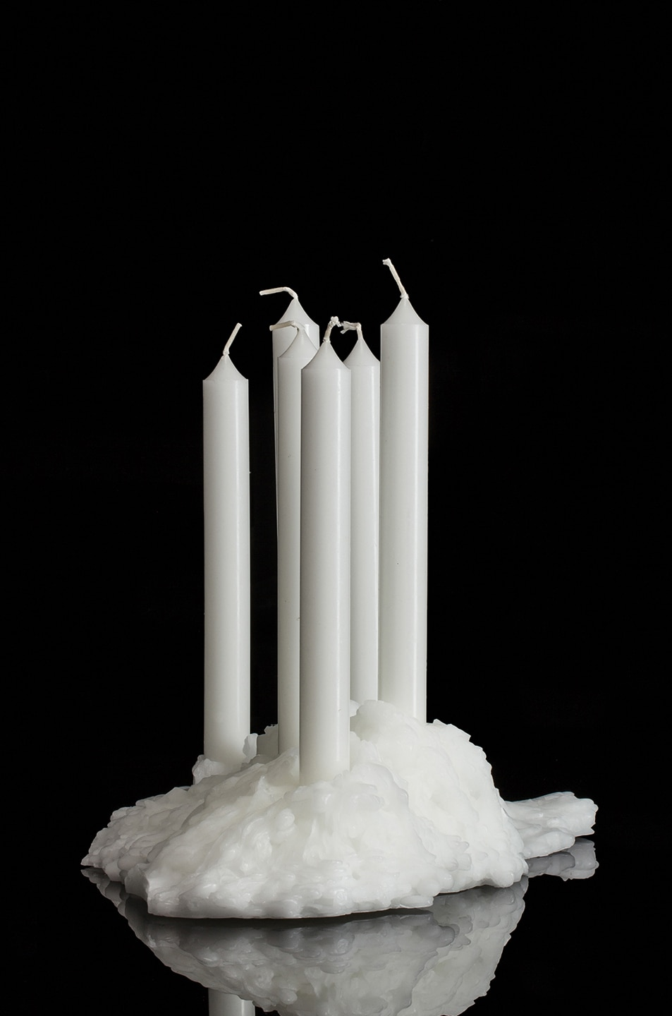 Image 3 of Maison Margiela Candle Holder in White