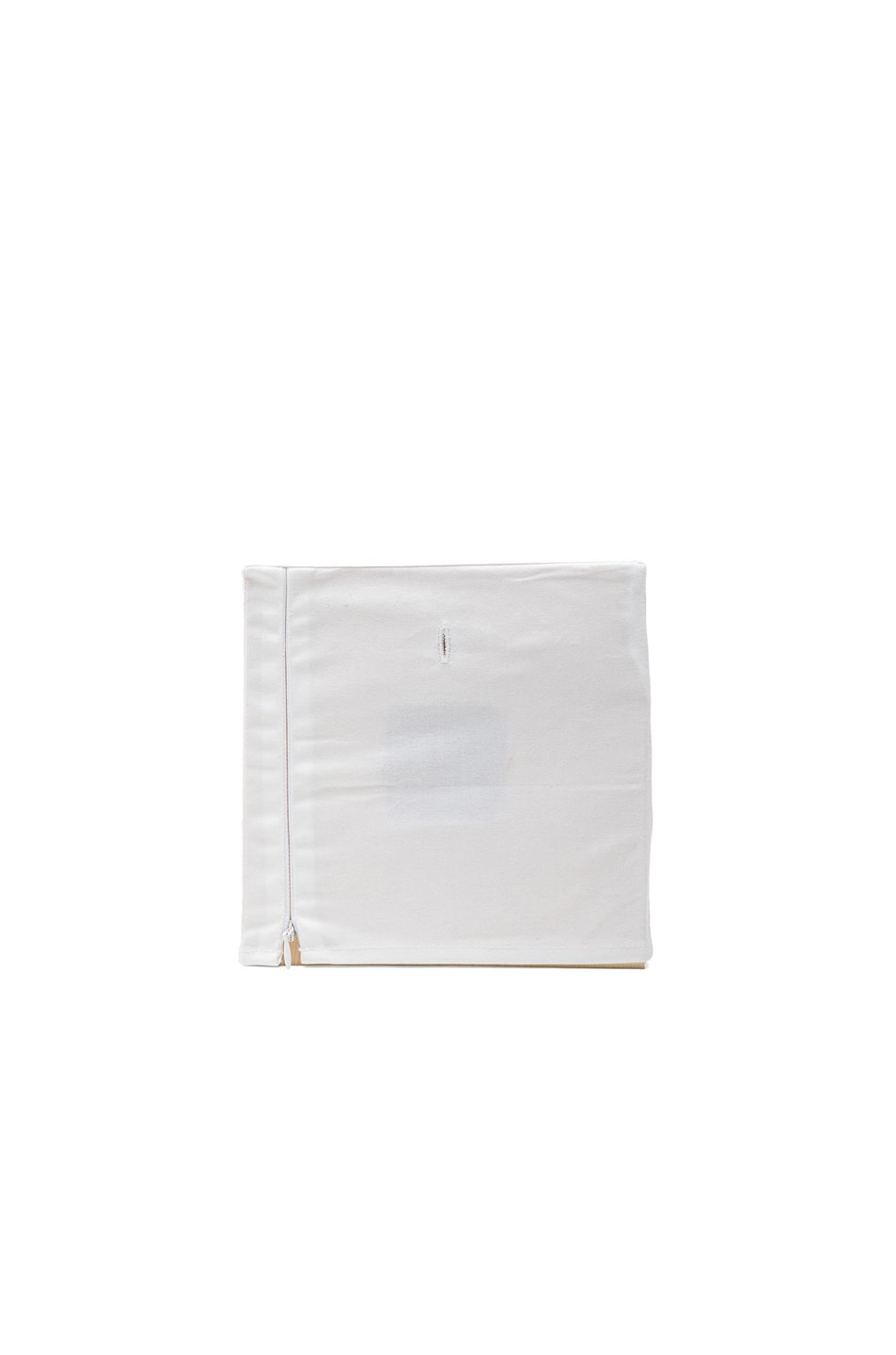 Image 2 of Maison Margiela Embroidered Clock in White