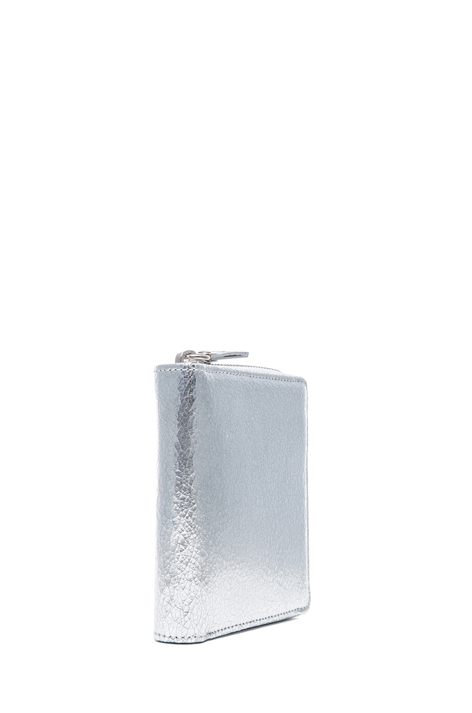 Image 3 of Maison Margiela Wallet in Silver
