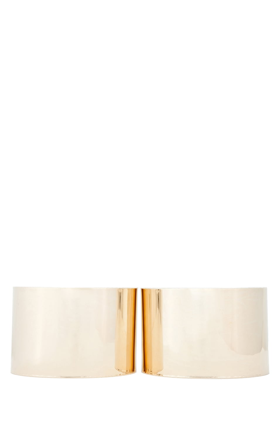 Image 1 of Maison Margiela Arm Cuff in Gold