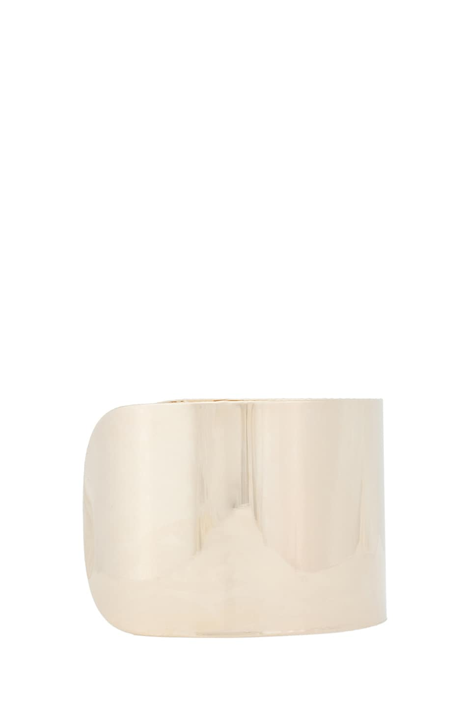 Image 3 of Maison Margiela Arm Cuff in Gold