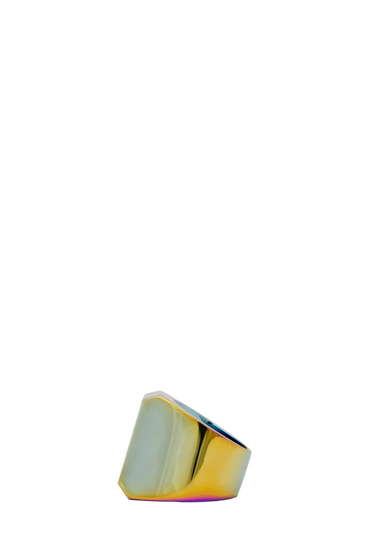 Image 3 of Maison Margiela Large Hidden Gem Ring in Multi