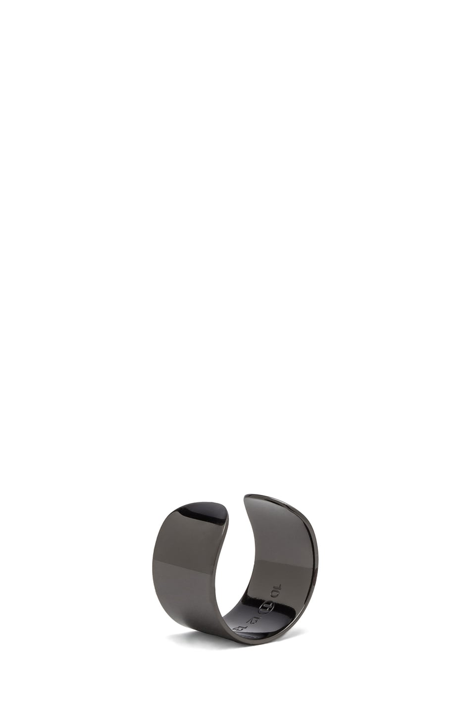 Image 5 of Maison Margiela Ring Set in Gunmetal
