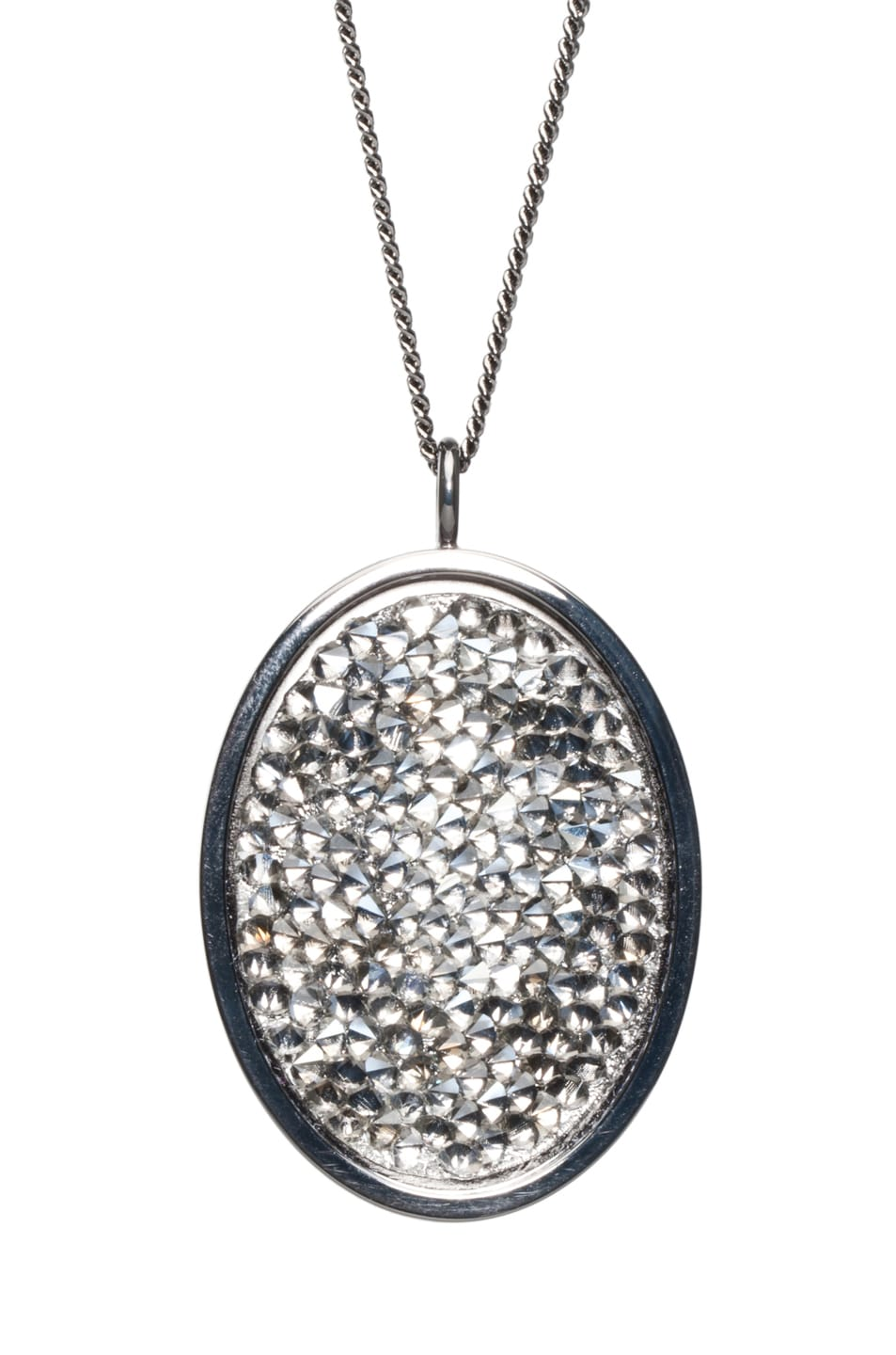 Image 3 of Maison Margiela Pendant Necklace in Gunmetal