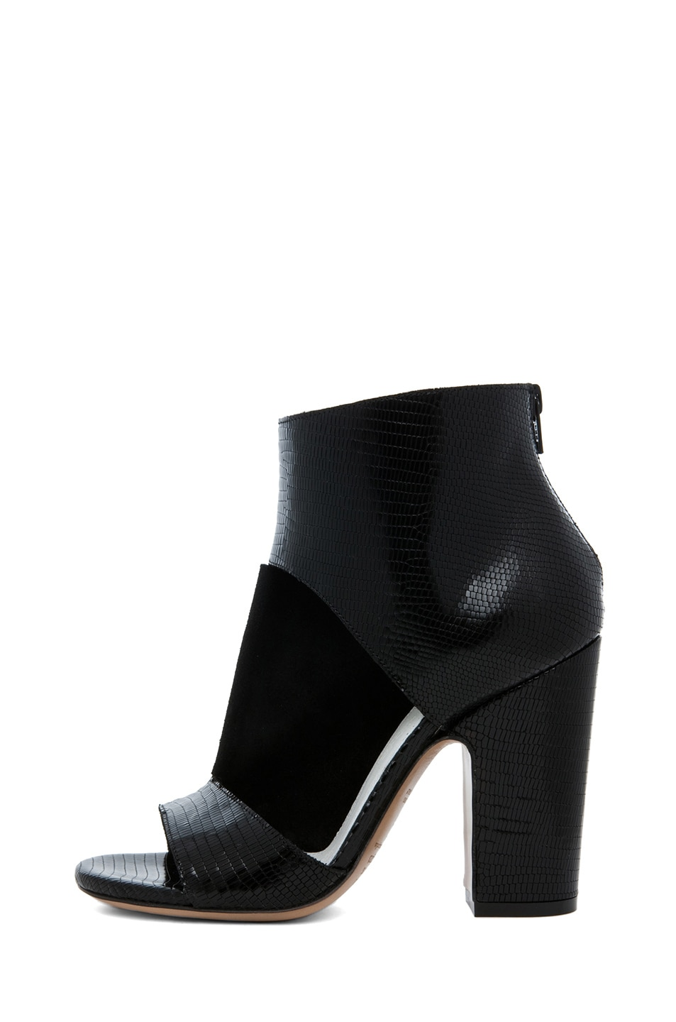 Image 1 of Maison Margiela Pliage Bootie in Black