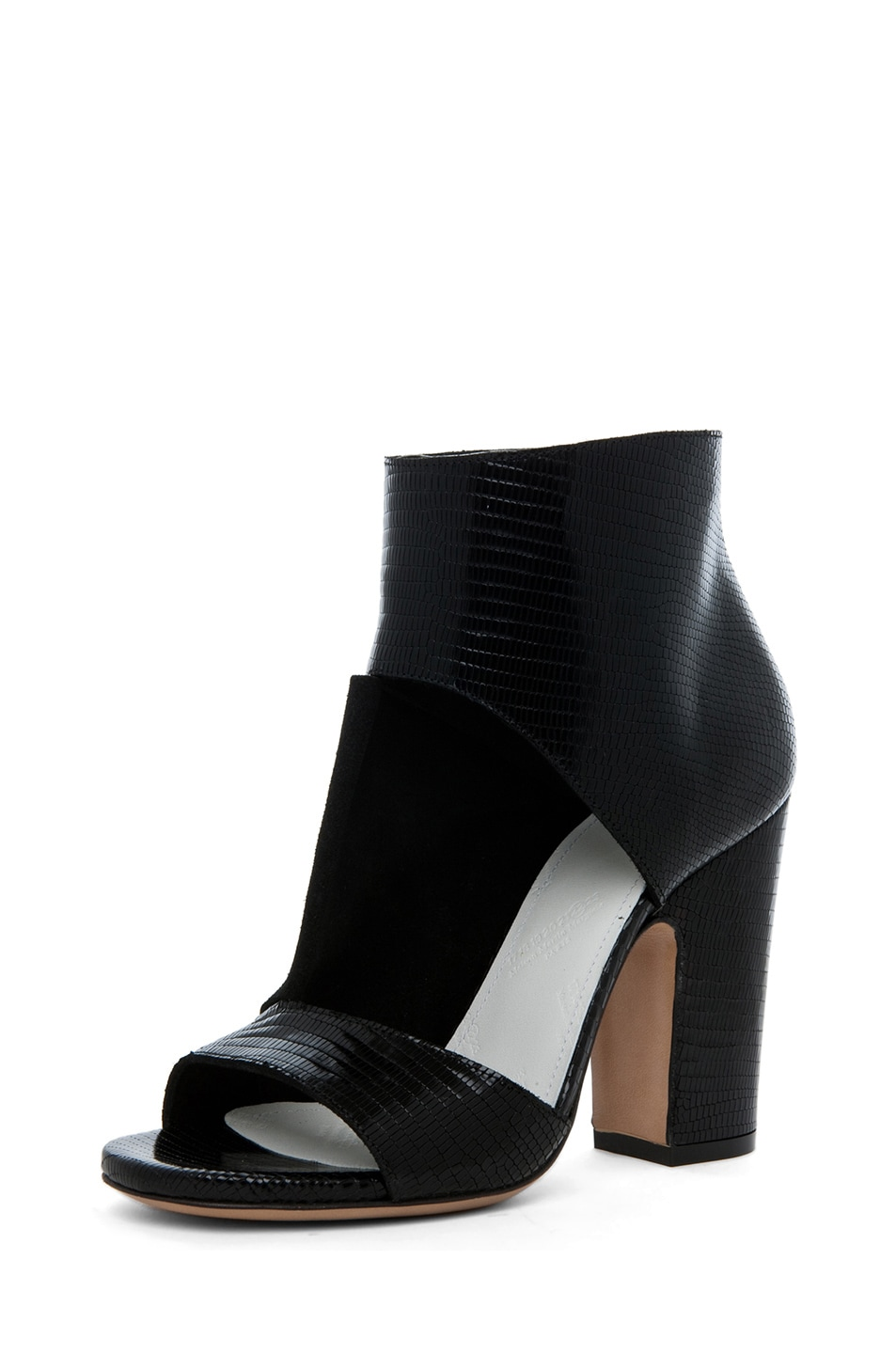 Image 2 of Maison Margiela Pliage Bootie in Black