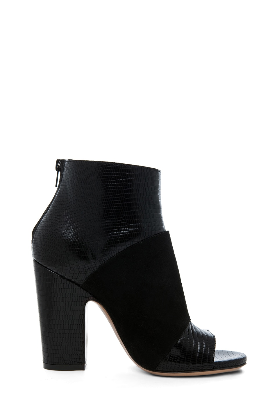 Image 5 of Maison Margiela Pliage Bootie in Black
