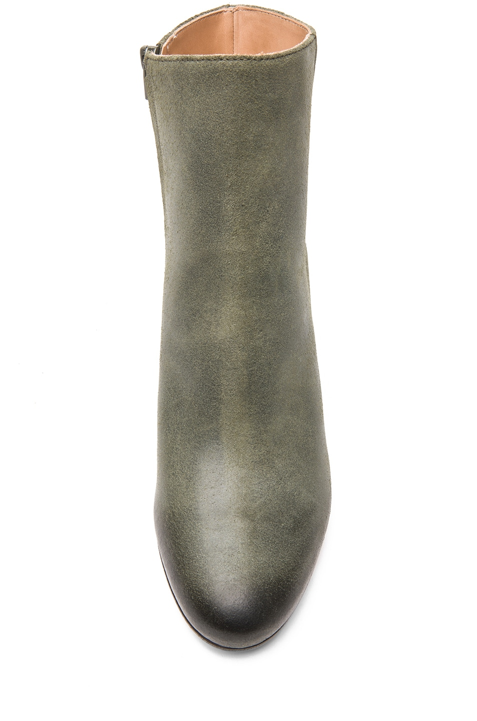 Image 4 of Maison Margiela Leather Bootie in Grey
