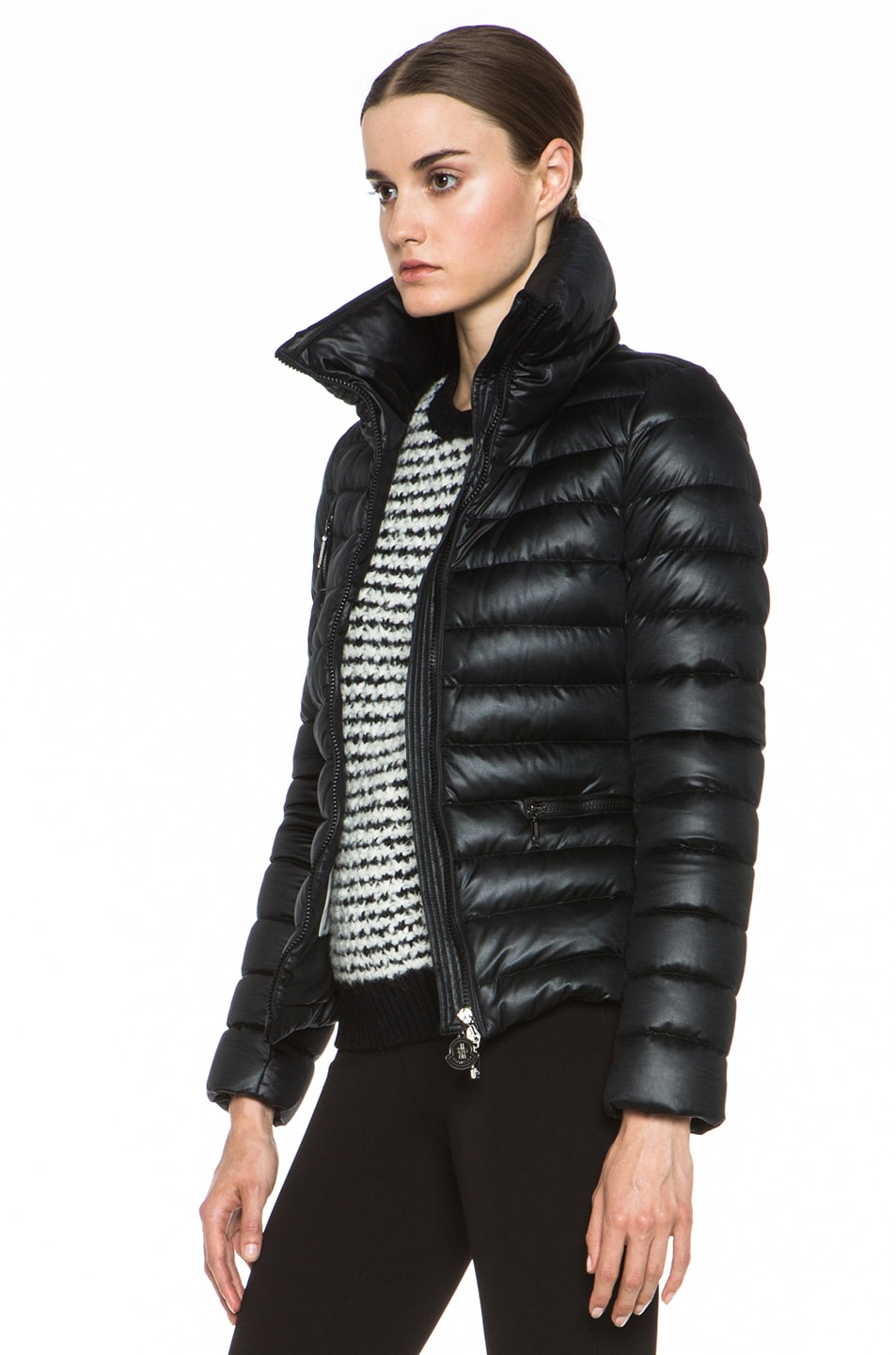 Image 3 of MONCLER Suisse Poly Jacket in Black