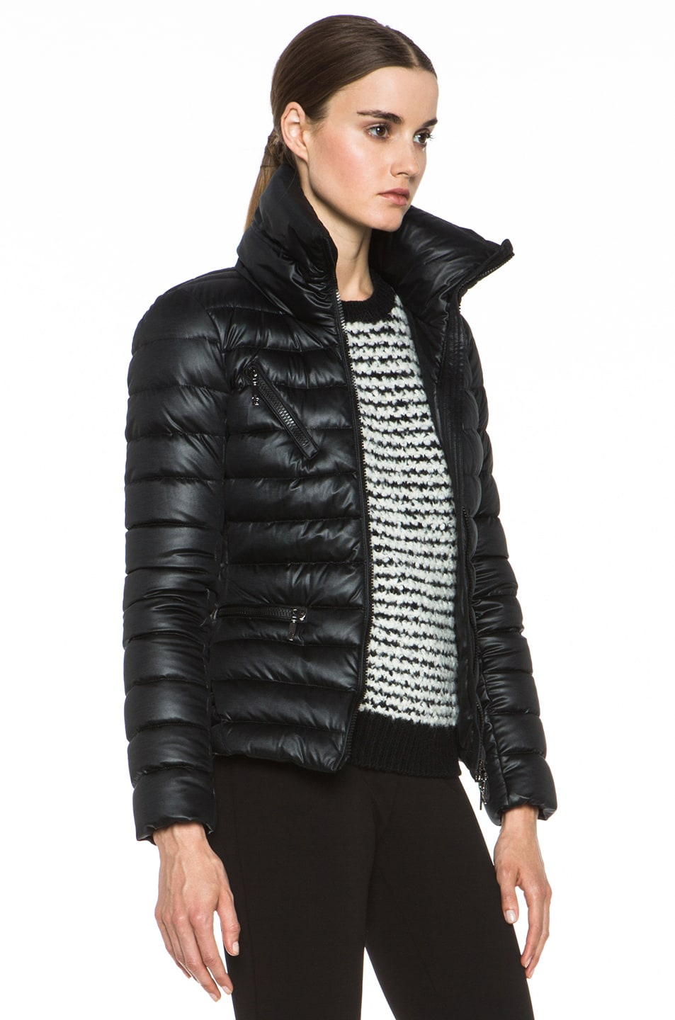 Image 4 of MONCLER Suisse Poly Jacket in Black