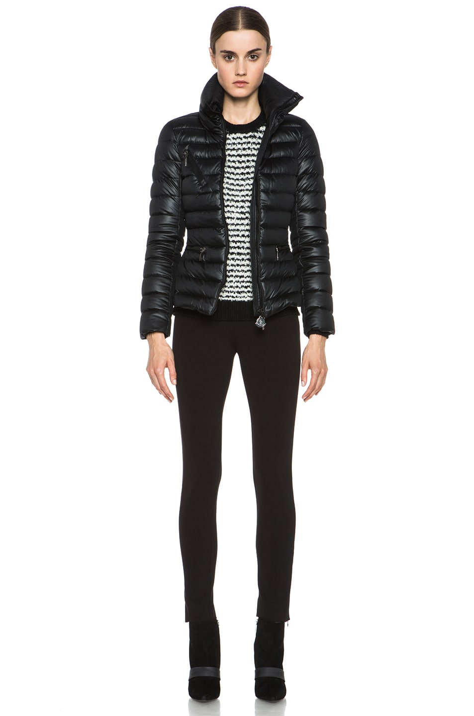 Image 6 of MONCLER Suisse Poly Jacket in Black