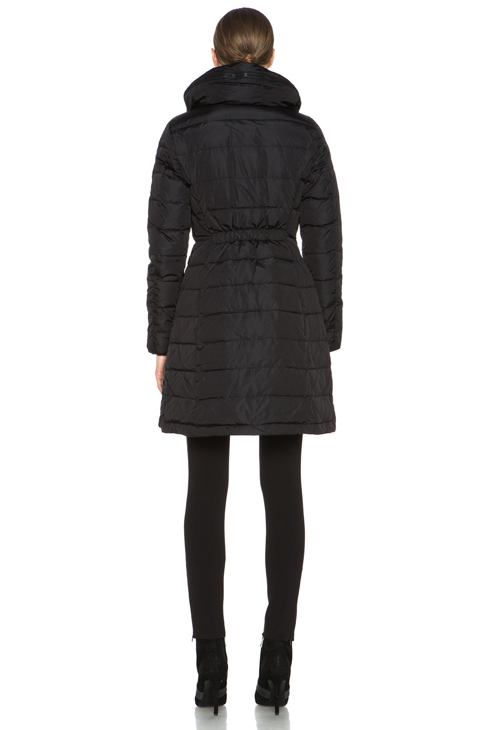 Image 5 of MONCLER Flamme Coat in Black