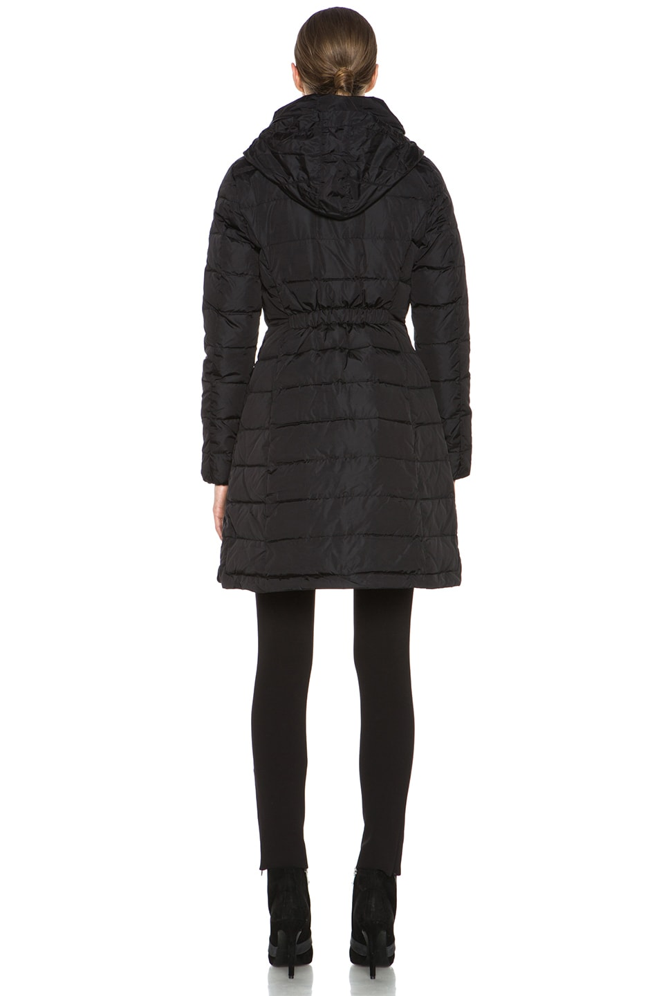 Image 6 of MONCLER Flamme Coat in Black