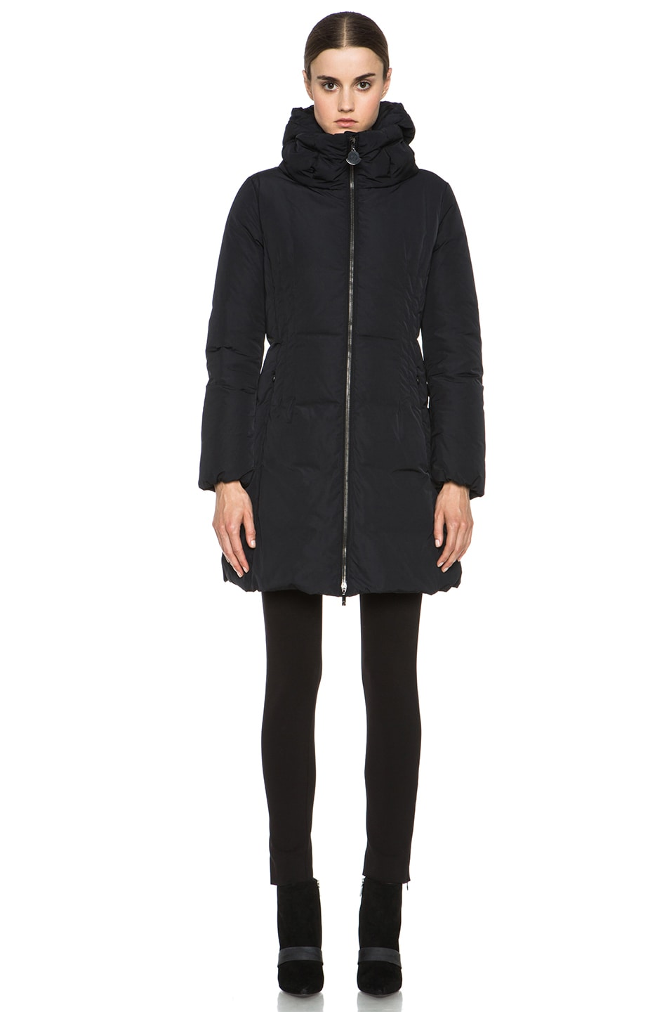 Image 2 of MONCLER Renne Coat in Black