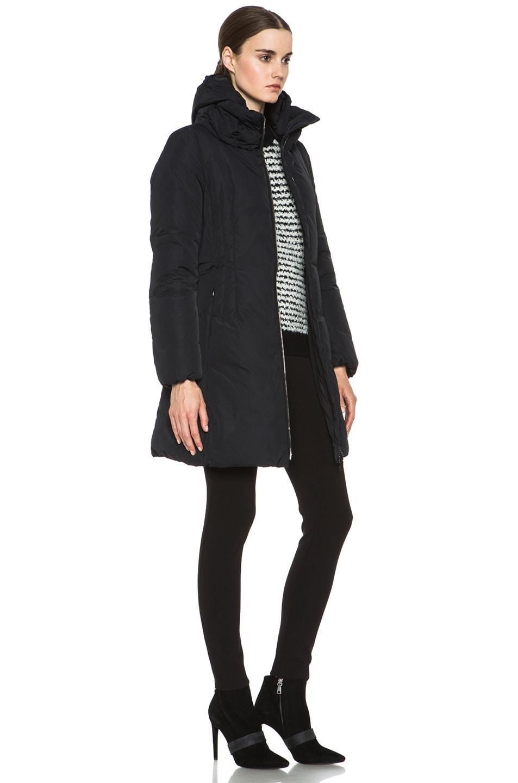 Image 4 of MONCLER Renne Coat in Black