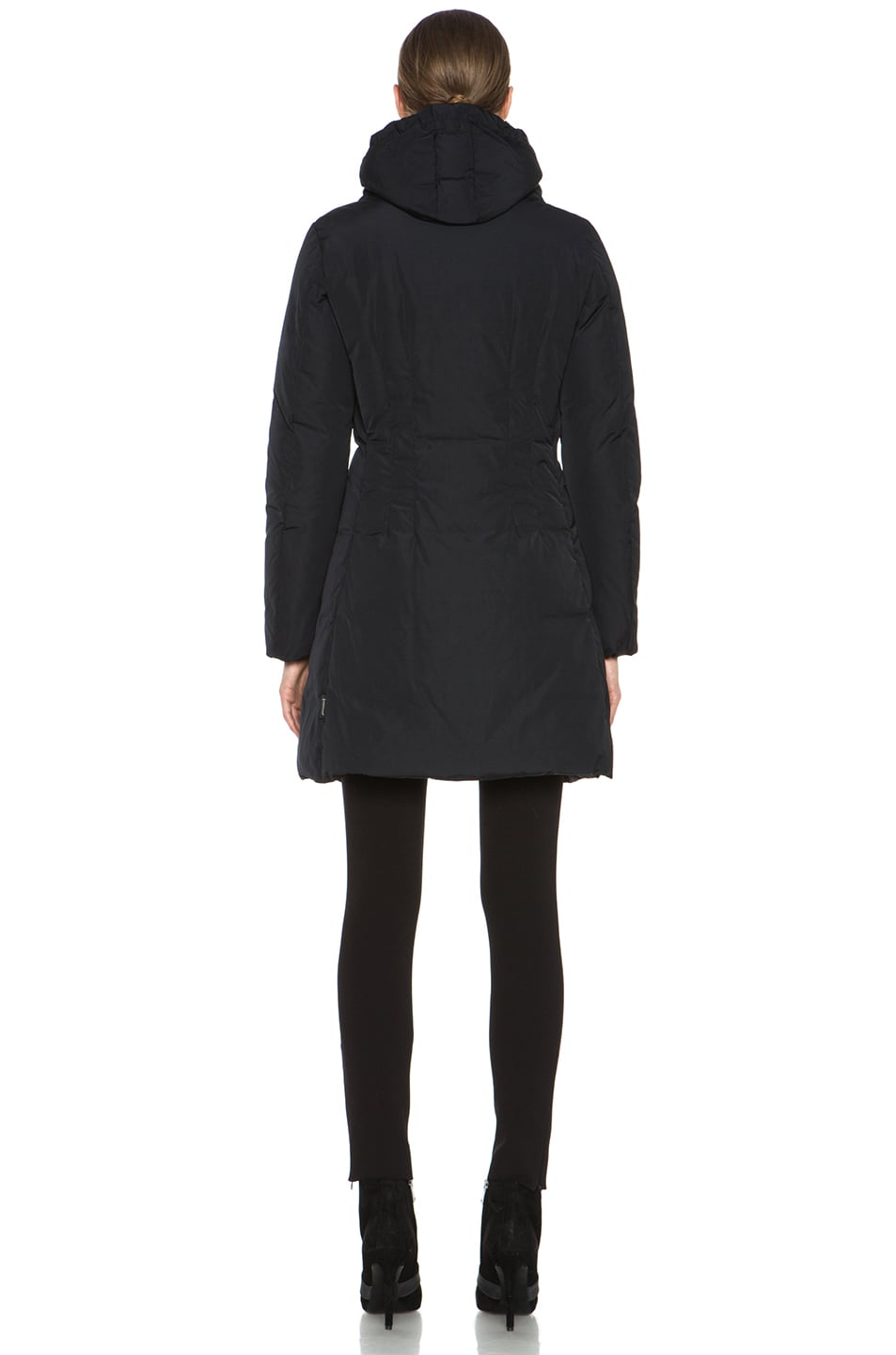Image 5 of MONCLER Renne Coat in Black