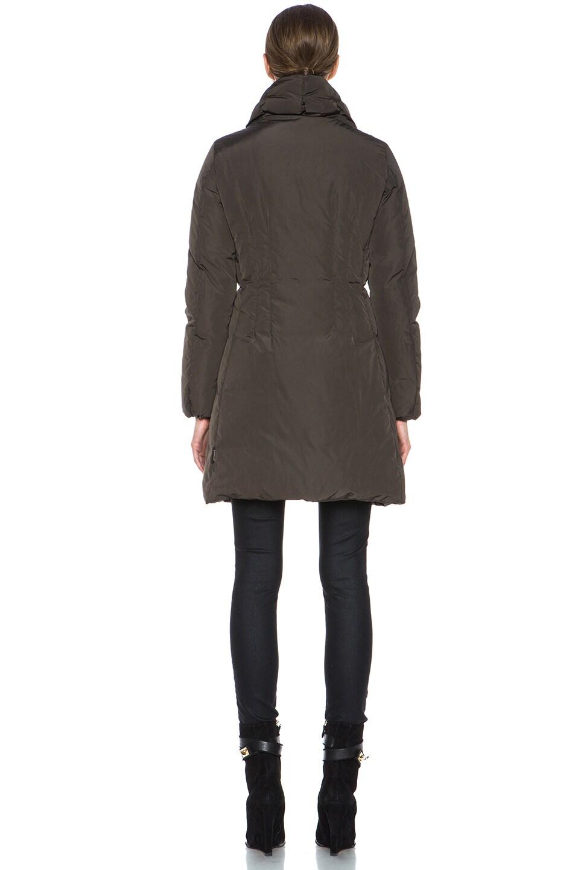 Image 5 of MONCLER Renne Poly Coat in Olive