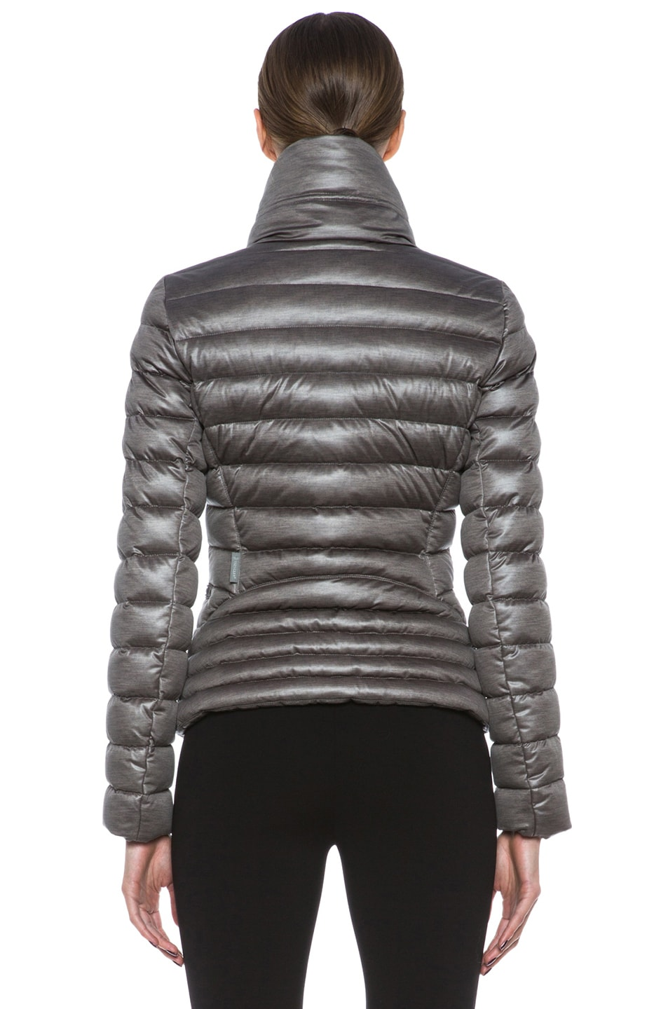 Image 5 of MONCLER Suisse Poly Jacket in Taupe